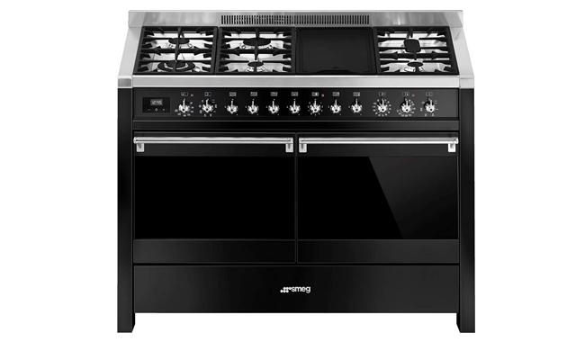 Smeg Opera A4BL-81 120cm Dual Fuel Range Cooker