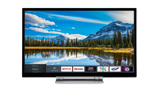 Toshiba 32D3863DB 32-Inch HD Ready Smart TV with Freeview Play