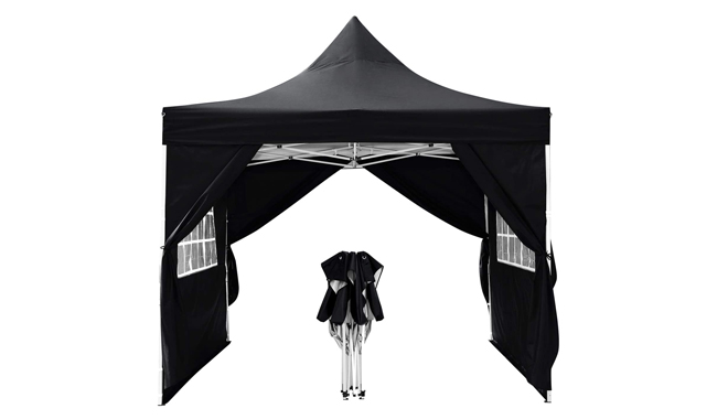 WOOKRAYS 3x3m Pop Up Gazebo