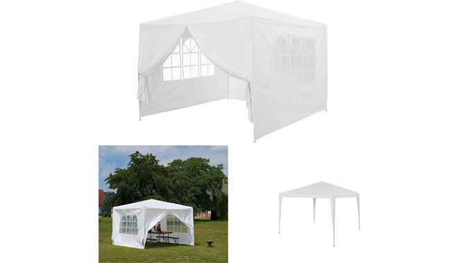 AutoBaBa 3x3m Side Panels Garden Gazebo