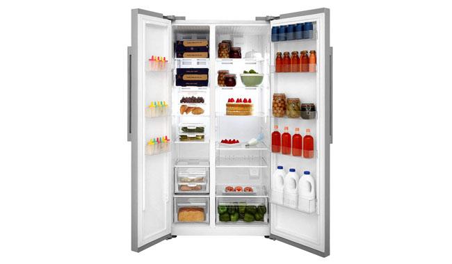 Beko Freestanding American Style Fridge Freezer