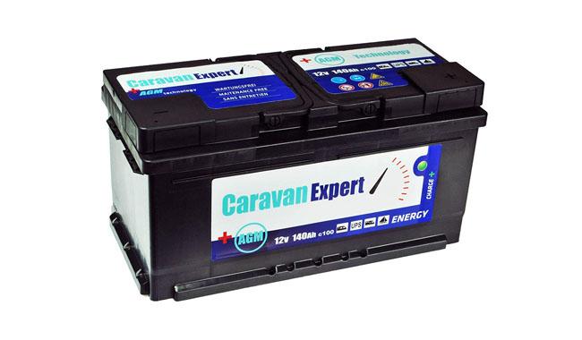 CaravanExpert AGM Battery