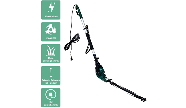 Charles Bentley Telescopic Extension Hedge Trimmer