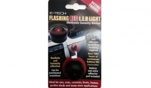 E-Tech Flashing Red LED – Dummy Alarm To Deter Thieves