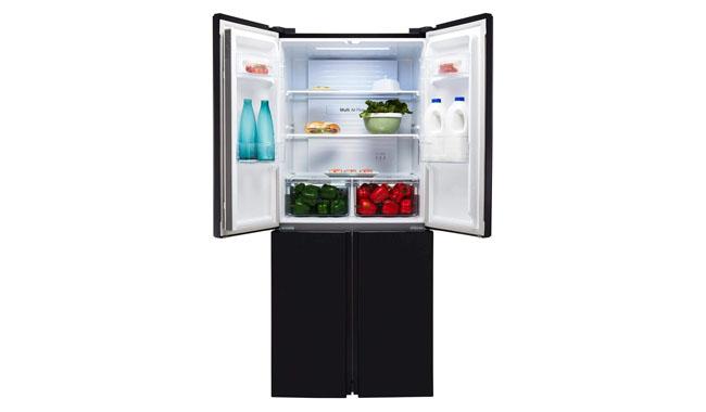 Fridgemaster MQ79394FFB American Fridge Freezer