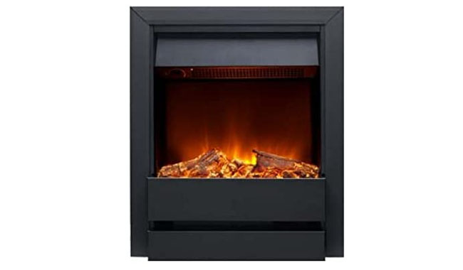 Galleon Fires Contemporary Log Electric Inset Fire