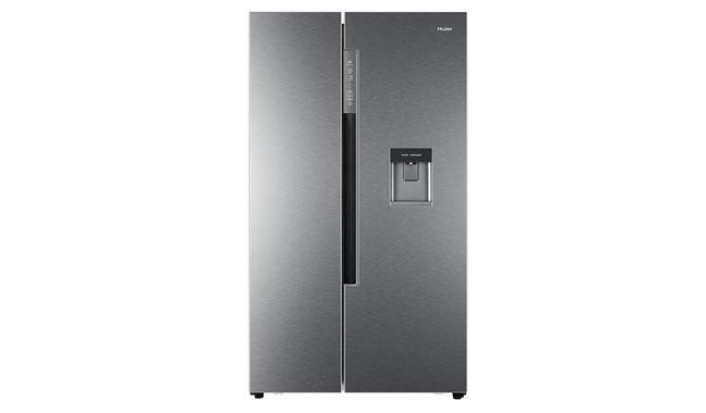 Haier HRF-522IG6 Freestanding American Fridge Freezer