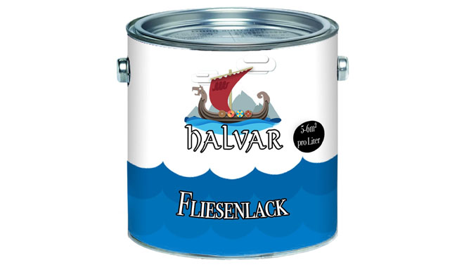 Halvar Scandinavian 2-K Tile Paint