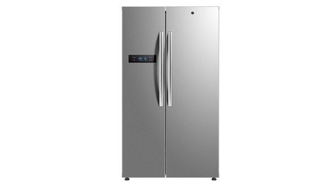 Hoover HSBSF178MBK Freestanding American Fridge Freezer