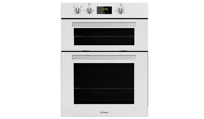 Indesit IDD6340WH Aria Electric Built-In Double Oven