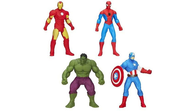 Marvel Action Figures Set of 4