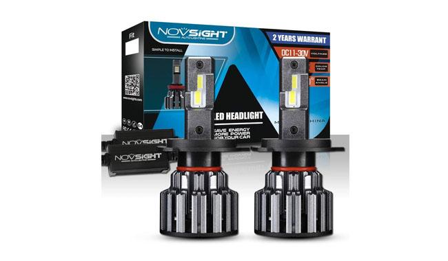 Novsight H4 LED Super Bright Headlight Bulbs Conversion Kit