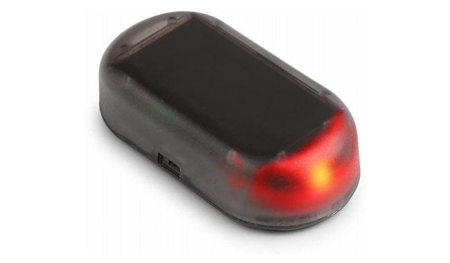 Onerbuy Solar Power Simulated Car Alarm