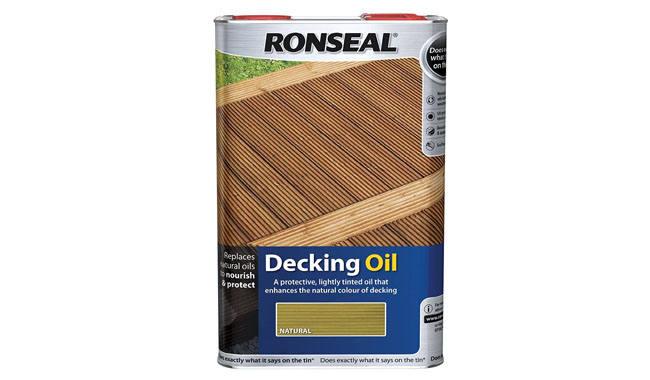 Ronseal RSLDOCL5L Natural Decking Oil
