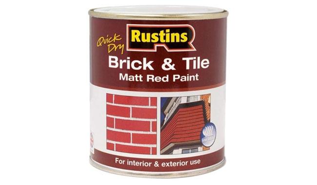 Rustins BRITW500 Quick Dry Brick & Tile Paint