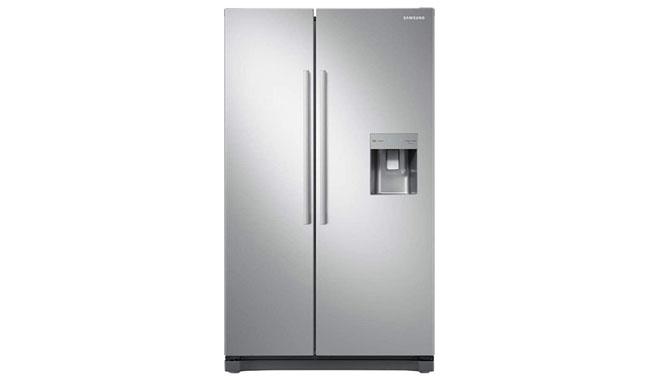 Samsung RS52N3313SL Freestanding American Fridge Freezer