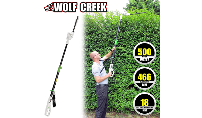 Wolfcreek Tools Electric Pole Trimmer