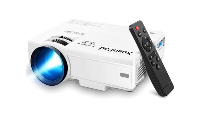 XuanPad Mini Portable Video Projector