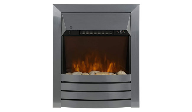 Zanussi ZEFIST1001SS 2KW Electric Inset Fire