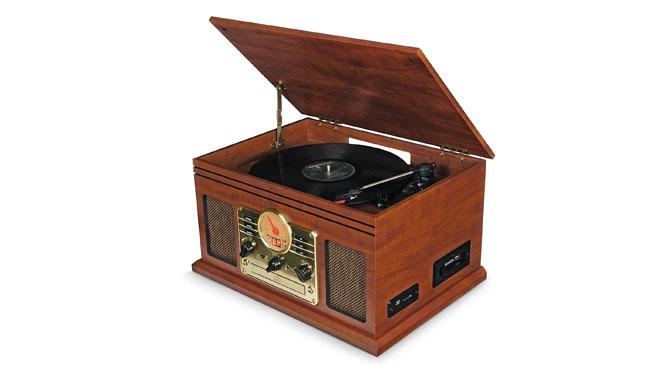 i-box PI00673-14 Record Player Vinyl Turntable