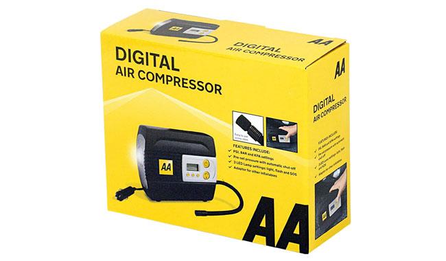 AA 12V AA5502 Digital Tyre Inflator