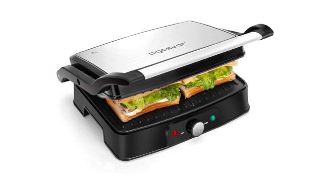 Aigostar Panini Grill & Sandwich Press
