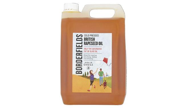 Borderfields British Premium Cold Pressed Rapeseed Oil