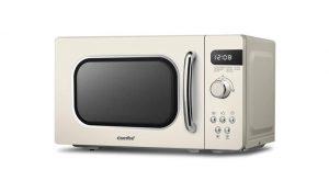 COMFEE' Retro Style CM-M202RAF Cream Microwave Oven