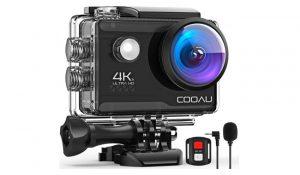 Cooau 4K Action Camera