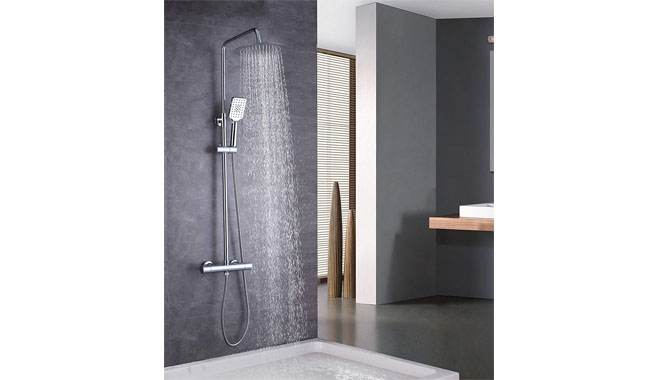 Elbe Thermostatic Mixer Shower