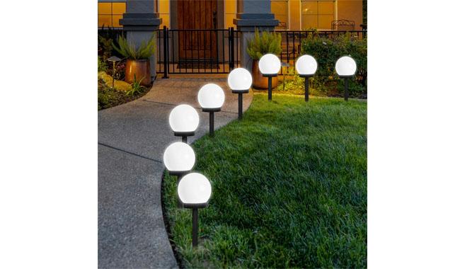 FLOWood LED Solar Garden Lights