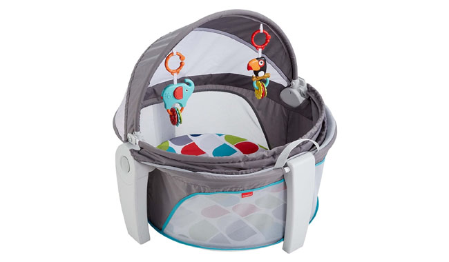 Fisher-Price GPH13 Multi-Coloured Baby Bouncer