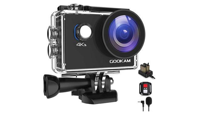 Gookam 4k Action Camera
