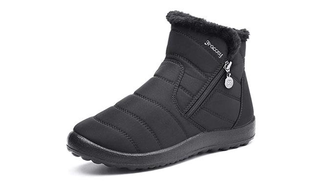 Gracosy Women's Snow Boots