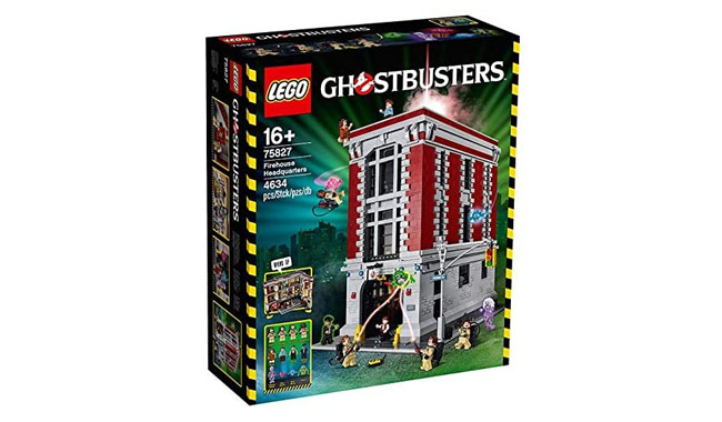 Lego Creator Ghostbuster's Firehouse
