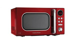 Morphy Richards 511502 Red Accent Microwave