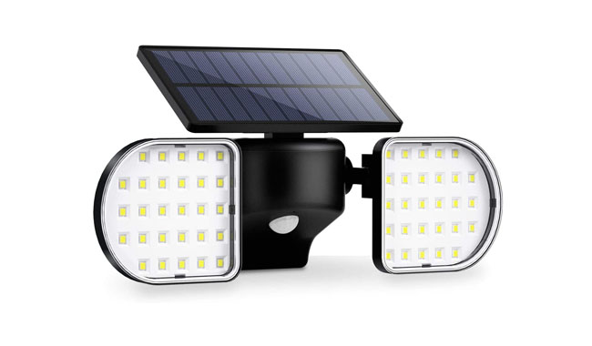 Ousfot YY-2145 Solar Powered 56 Led Outdoor Lights