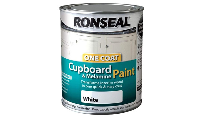 RONSEAL 35909 White OC Cupboard Paint Gloss