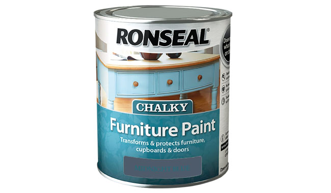 Ronseal RSLCFPMB750 750 ml Chalky Furniture Paint