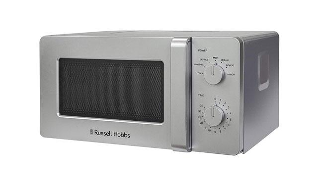 Russell Hobbs RHM1401S Silver Microwave