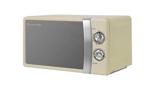 Russell Hobbs RHMM701C Cream Caravan Microwave