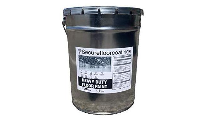 Secure Floor Coatings Oil-Based Floor Paint