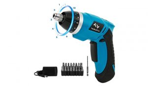 Tilswall TSW-SD-YG Mini Rechargeable Cordless Screwdriver