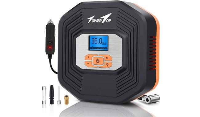 TowerTop ACULD1001-2 Digital Tyre Inflator