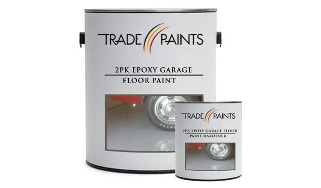 Trade Paints 2 Pack Epoxy Garage Floor Paint