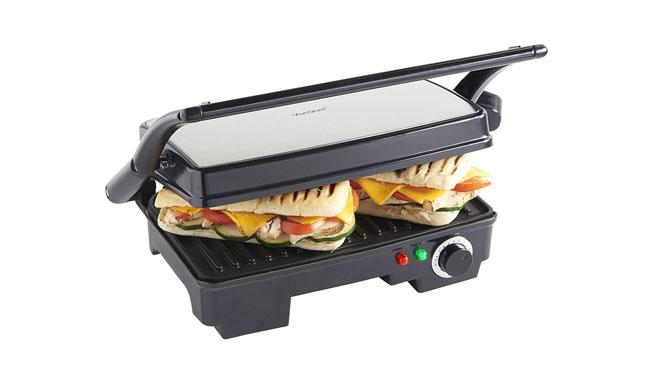 VonShef 13-178 Sandwich Maker and Panini Press