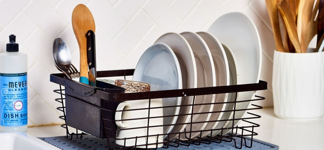 Best Dish Drainers Banner Image