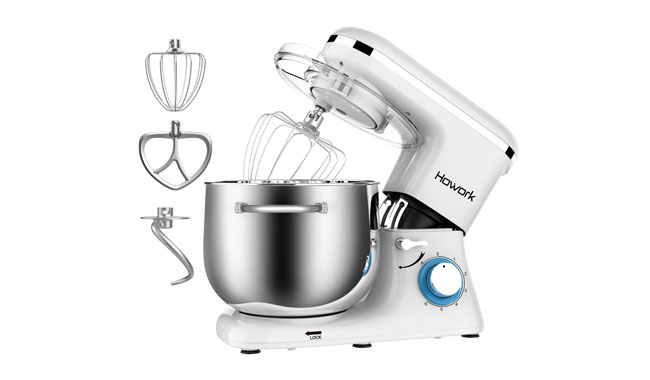 HOWORK SM-1520Z White Stand Mixer