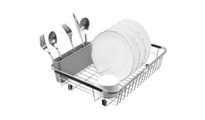 SANNO Over-The Sink Dish Drainer