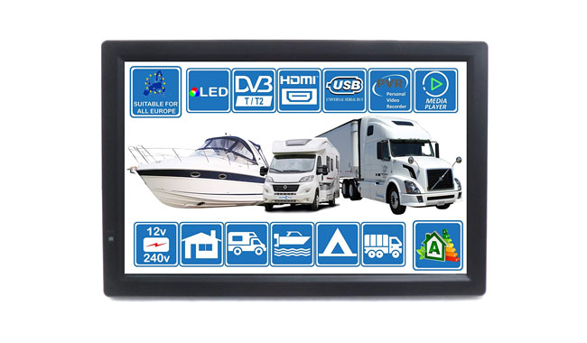 Unispectra® 14D2T2 Caravan 14 LED Digital TV